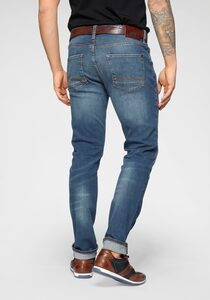MUSTANG 5-Pocket-Jeans »Vegas« leichter used Look