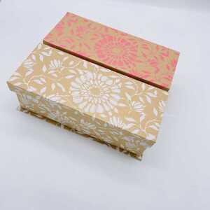 Aufbewahrungsbox mit Magnetverschluss, ca. 30,3 x 12,5 x 10 cm, verschiedene Farben