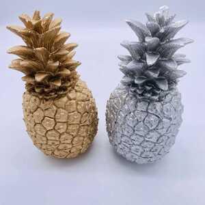 """Dekorationsobjekt """"Ananas"""", ca. 12 x 12 x 26 cm, verschiedene Farben"""