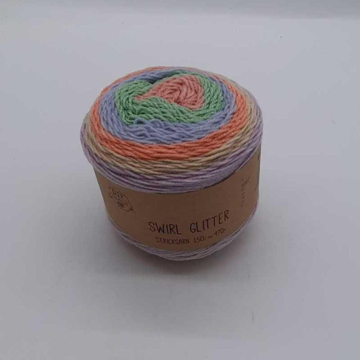 """Bild 3 von Strickgarn """"Swirl Glitter"""", ca. 780m, verschiedene Farben"""