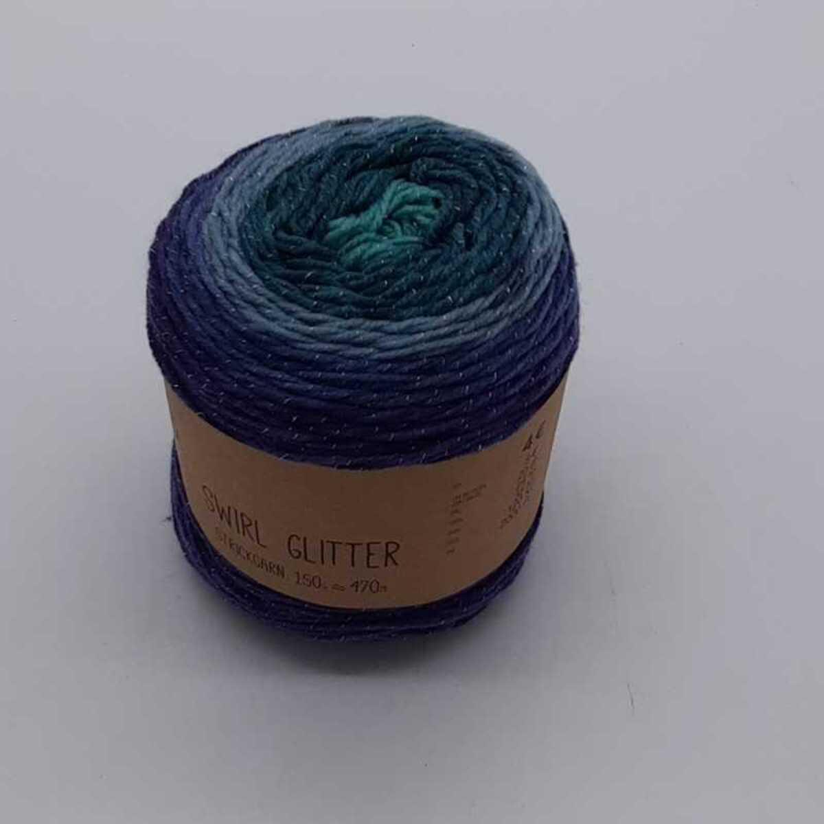 """Bild 5 von Strickgarn """"Swirl Glitter"""", ca. 780m, verschiedene Farben"""