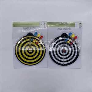 Magnetdartspiel mit 3 Pfeilen, verschiedene Farben