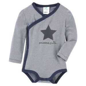 Newborn Wickelbody mit Stern-Motiv