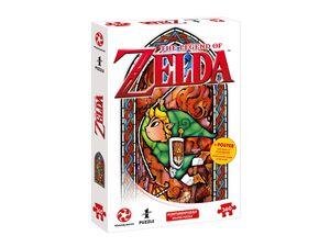 Winning Moves PUZZLE - ZELDA LINK ADVENTURER (360 TEILE) - Gesellschaftsspiele