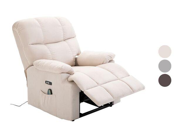 HOMCOM Massagesessel mit Wärmefunktion und Aufstehhilfe