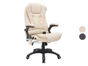 HOMCOM Bürosessel / Chefsessel mit Massage- und Wärmefunktion
