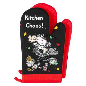"""Sheepworld Ofenhandschuhe, """"Kitchen Chaos"""" - 2er-Set"""