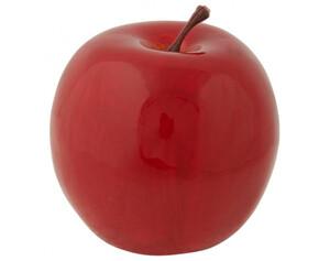 Deko Apfel ø 9 cm rot