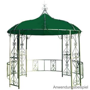 Ersatzdach für Pavillon Burma rund, Ø 3 m, Grün