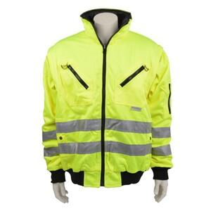 Asatex Warnschutz Pilotenjacke 2in1 174WG gelb EN471 Warnschutz Arbeitsjacke