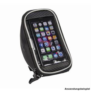 FISCHER Lenkertasche mit Smartphonefach