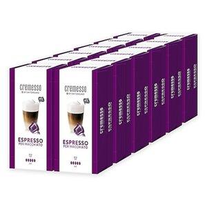 Cremesso Espresso per Macchiato 16 Kapseln 96 g, 12er Pack