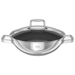 Rösle Wokpfanne für asiatische Gerichte Ø28cm edelstahl / schwarz