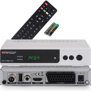 Opticum RED AX C 100S HD PVR HDTV, DVB-C, HDMI, SCART, USB , PVR Ready