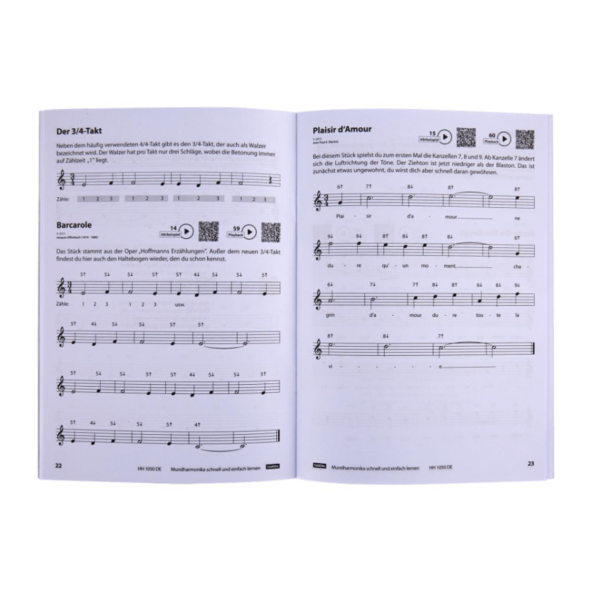Bild 2 von CASCHA     Mundharmonika-Set