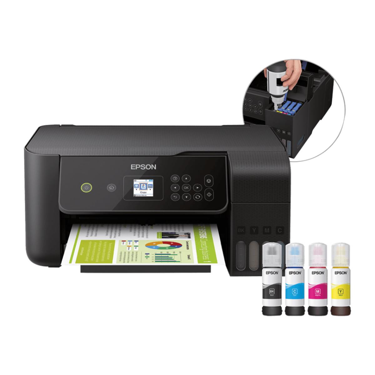 Bild 1 von EPSON     EcoTank ET-2720 3-in-1-Tintenstrahldrucker