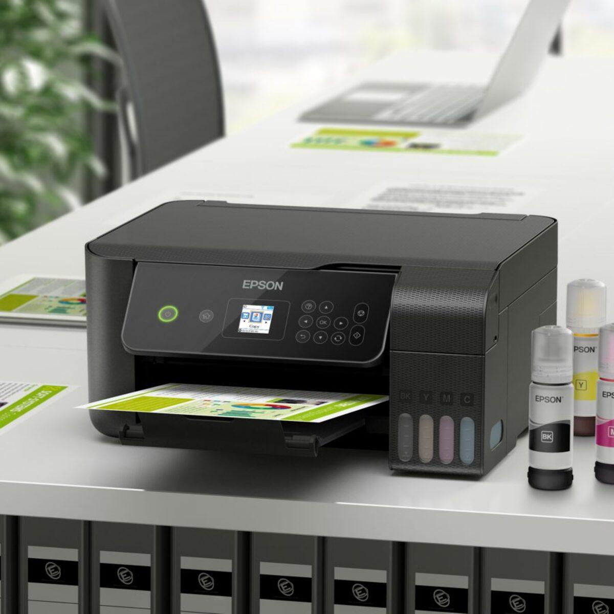 Bild 2 von EPSON     EcoTank ET-2720 3-in-1-Tintenstrahldrucker