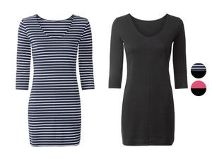 ESMARA® Longshirt Damen, mit Bio-Baumwolle, 2 Stück