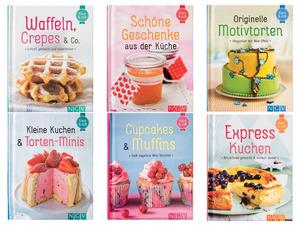 Backbücher »Cupcake«, mit Farbfoto zu jedem Rezept