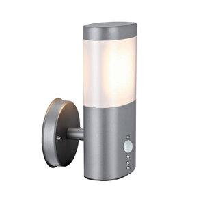 """Flector Garten              LED-Außenwandleuchte """"Mira"""", mit Bewegungsmelder, grau"""
