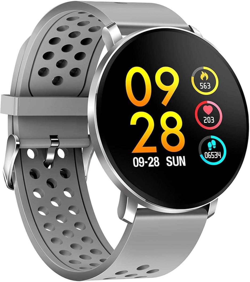 Bild 2 von Denver Smartwatch SW-171, Bluetooth, Touchscreen, Farbe: Grau