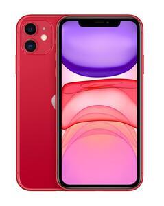 Apple Smartphone iPhone 11 15,5cm (6,1 Zoll), Größe: 128GB, Farbe: Rot