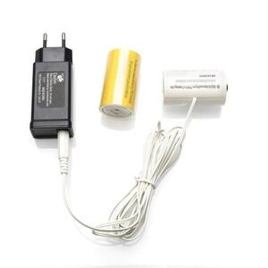 Konstsmide batterieladegerät 3V D schwarz 3-teilig