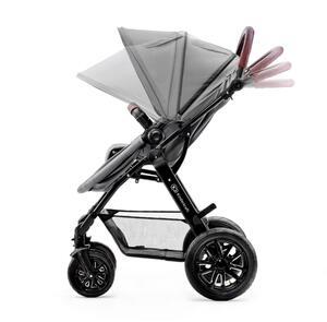 Kinderkraft Funktionaler 3in1-Kinderwagen MOOV grau