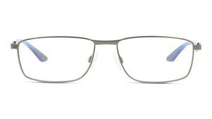 PUMA PU0065O 008 Metall Rechteckig Silberfarben/Silberfarben Herren Männer