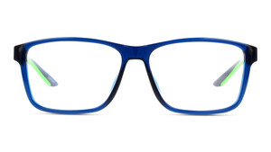 PUMA PU0207O 002 Kunststoff Rechteckig Blau/Transparent Herren Männer
