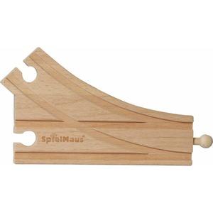 SpielMaus Holz Bogenweiche, 2 Stück