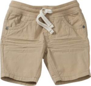 PUSBLU Kinder Shorts, Gr. 92, in Baumwolle, beige