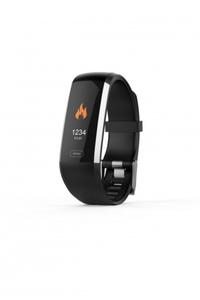 Smart-Watch SW 600 HR purple mit Bluetooth Funktion und Herzfrequenzmessung