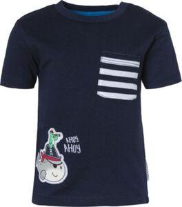 Baby T-Shirt , Piraten dunkelblau Gr. 80 Jungen Kinder