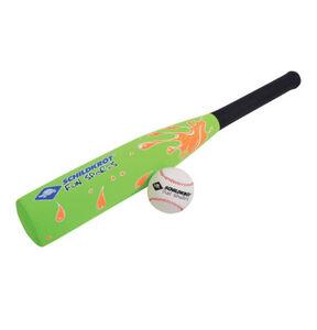 Schildkröt Neopren Baseball-Set, Schläger, Ball, grün/schwarz