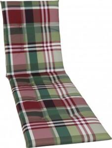 GO-DE Rollliegen-Auflage 58 cm x 190 cm x 5 cm, rot, karo rot