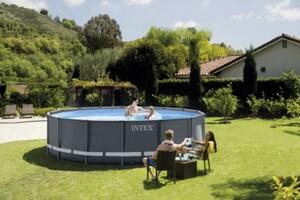 Intex Frame Pool Set Ultra Rondo Ø 488 x 122 cm