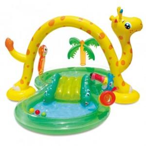 Summer Waves Aufblasbarer Dschungel-Pool und Spielcenter
