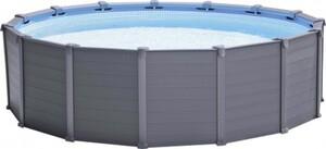 Intex Frame Pool Set Graphit Ø 478 x 124 cm