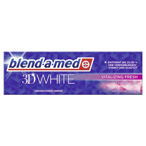blend-a-med Zahncreme 3D White Vitalizing Fresh 75 ml