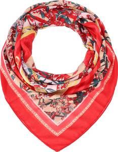 GUESS, Printed Kefiah Tuch 140 Cm in rot, Tücher & Schals für Damen