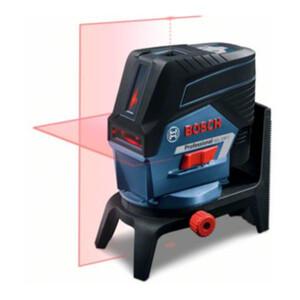 Bosch Kombilaser GCL 2-50 C mit 4 x 1,5-V-LR6-(AA)-Batterien Akku-Adapter RM 2