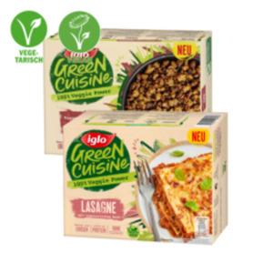 Iglo Green Cuisine Gerichte