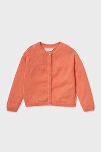 C&A Strickjacke-Bio-Baumwolle, Orange, Größe: 92