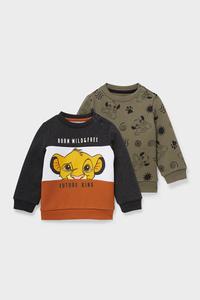 C&A Multipack 2er-Der König der Löwen-Baby-Sweatshirt, Braun, Größe: 62