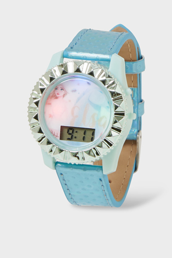 C&A Die Eiskönigin-Armbanduhr, Rosa, Größe: 1 size