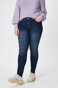 C&A CLOCKHOUSE-Skinny Jeans, Blau, Größe: 44