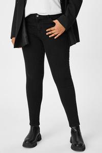 C&A CLOCKHOUSE-Skinny Jeans, Schwarz, Größe: 44