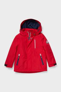 C&A Regenjacke mit Kapuze, Rot, Größe: 92