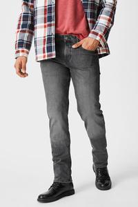 C&A Straight Jeans-recycelt, Grau, Größe: W30 L32
